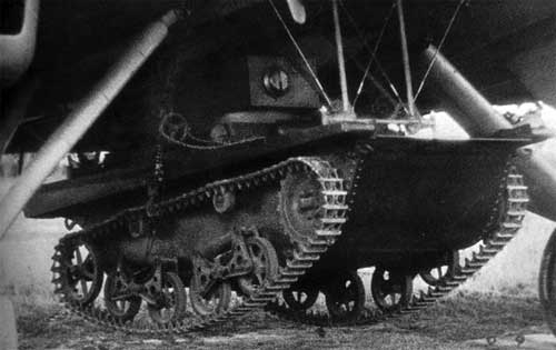 Доставка по воздуху танка Т-37А