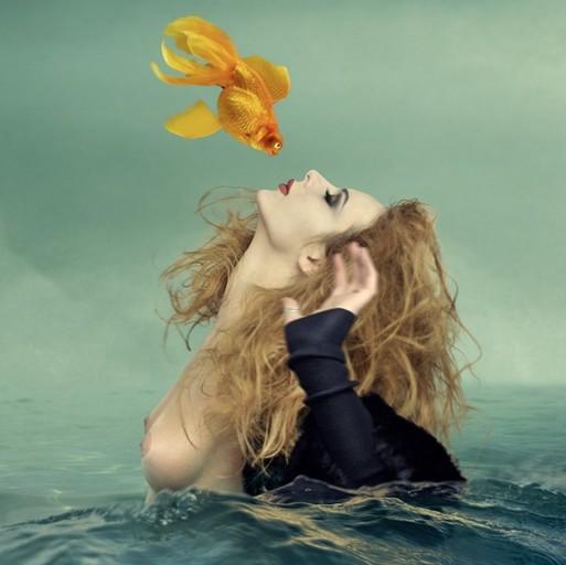 О золотой  рыбке...